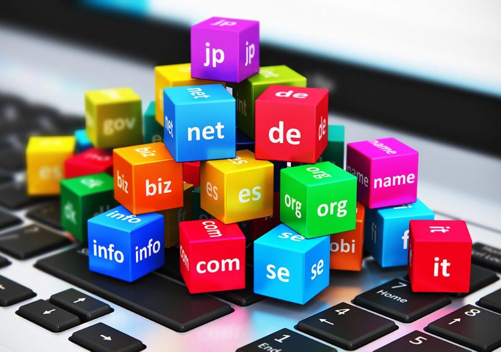 Algunos nombres de dominio